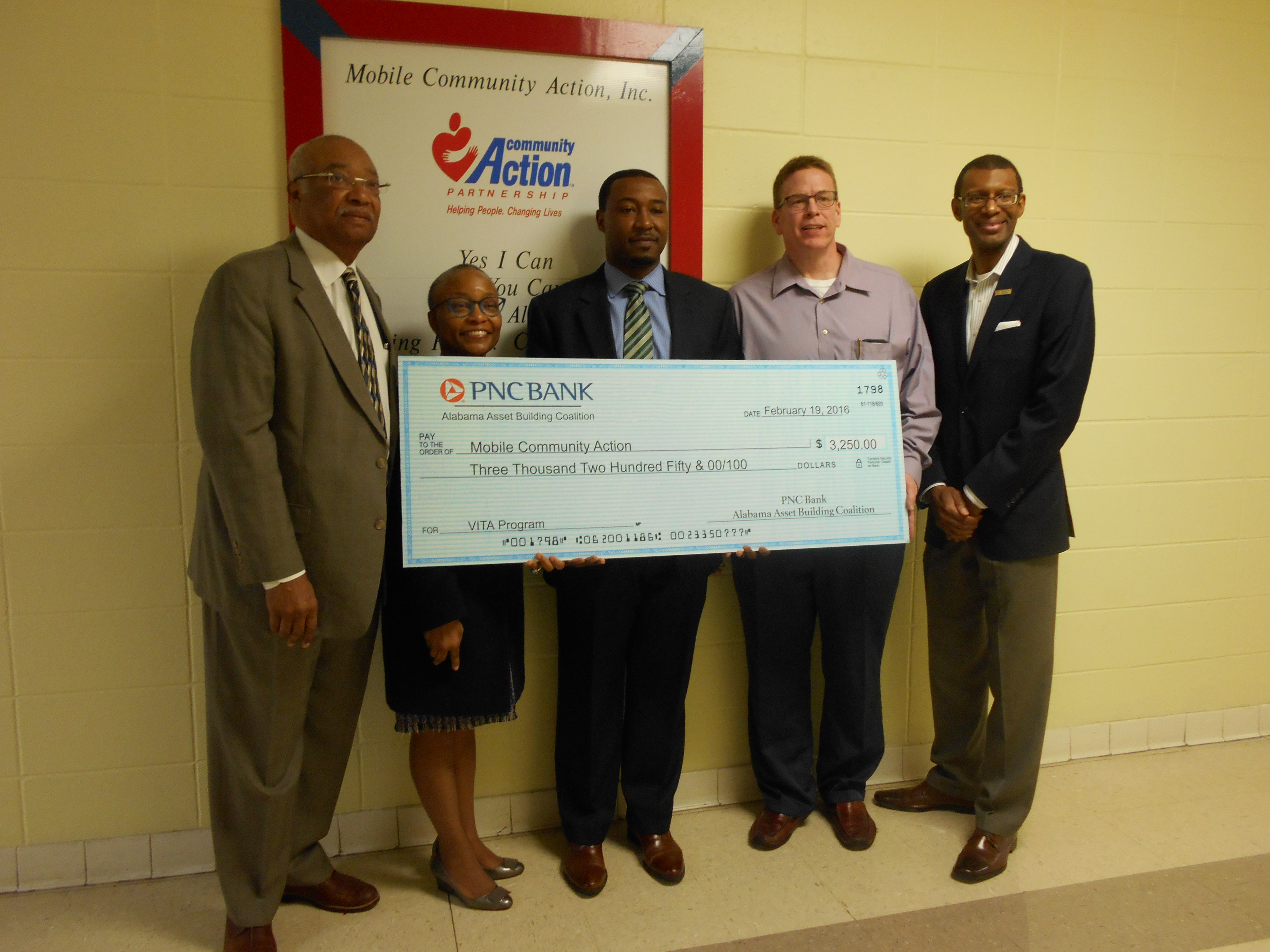 home mobile community action serving mobile al community mobile community action mca in partnership pnc bank and the alabama asset building coalition received funds to support our volunteer income tax